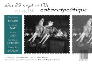 Cabaret poétique 09-13