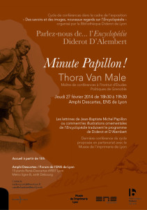 Flyer ParlezNous Encyclopedie_thora van male
