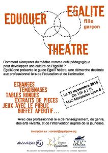 eduquer égalité théâtre