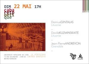 cabaret poétique 22 mai