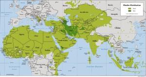 C3 carte sunnites chiites